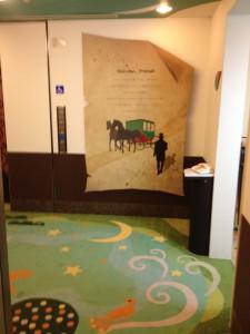 ホテル京阪ユニバーサルシティ・エレベーターホール