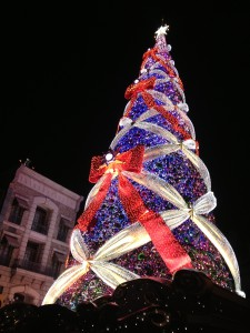 世界一のUSJクリスマスツリー